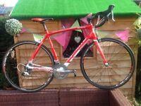 lapierre sensium 100 full carbon 54cm frame,tiagra groupset,gears/shifters/crank/brake calipers,