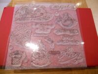 Assorted collection of Rubber Stamps-(some close to my heart)- Acrylic Blocks and inks
