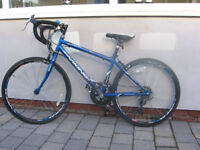 Boy's Road bike, 7 to 9 years approx, 14 gears, excellent condition