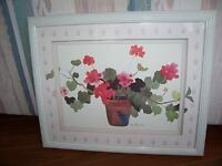 Framed Water Colour Picture