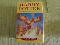 Harry Potter and The Order of the Phoenix. 1st edition