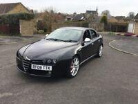 Alfa Romeo 159 2008 2.4 210BHP - Ti Black - Cruise Control - Heated Seats - Full Leather - Parking s