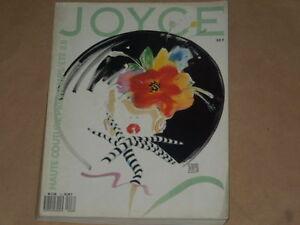 MODA-JOYCE-PARIS-1988-N-8-HAUTE-COUTURE-PRINTEMPS-ETE-88-MARS-AVRIL-VERY-GOOD