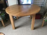 Solid Oak Dining Table - open to sensible offers