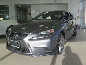 2016 Lexus IS 300 F SPORT/FULLY EQUIPPED/1 OWNER/ LOW LOW KMS/MU