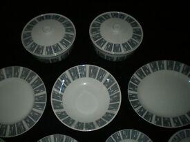 Vintage 1950s Dinner Service Tureens Serving Plate Large Bowl Various Plates