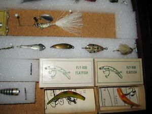 ANTIQUE FLYROD LURE COLLECTION Kawartha Lakes Peterborough Area image 6
