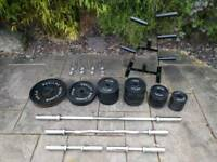 Olympic weights 235kg - cost £570