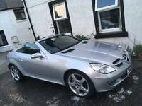 **REDUCED PRICE** Mercedes SLK, immaculate condition, low mileage and full years MOT