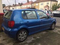 2000 X VOLKSWAGEN POLO SE 1.4 MANUEL POWER STEERING CD PLAYER SUNROOF AIR CON