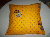 Bob the Builder cushion cover, hand made envelope style