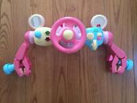 ELC Pushchair Steering Wheel Pink
