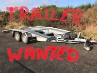 Car transporter trailer WANTED !!!
