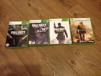 Selection Xbox 360 games