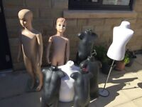 Child mannequins size 6 years various