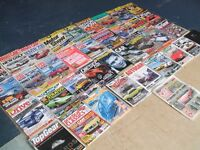 car magazine collection to clear 34 in total
