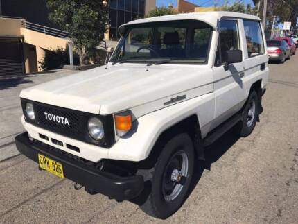1985 TOYOTA LANDCRUISER DIESEL MANUAL WITH 19.01.2018 REGO Greenacre Bankstown Area Preview
