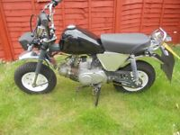 Monkeybike Easy Rider M50 2006 (modified)