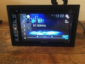 Pioneer AVH-X3800DAB Bluetooth, usb, radio,dab, cd/dvd.