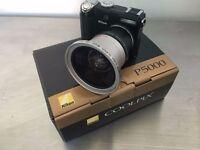Nikon CoolPix 5000 in original box + wide adapter