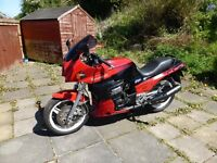 Kawasaki gpz900r - A7 model 1990 - 12 months MOT - red & black