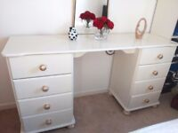 Dressing Table, Bedside Cabinet, Mirror, Side Table Shabby chic