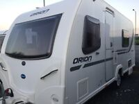 HALLOWEEN TREATS @ Tricam Caravans - 2012 Bailey Orion 440-4 - Double Dinette with End Washroom