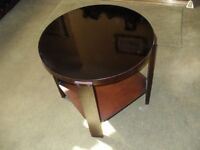 COFFEE TABLE BLACK LACQUERED ORIGINAL 1930's .