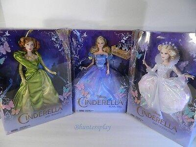 DISNEY CINDERELLA SET - Royal Ball,  Fairy Godmother & Lady Tremaine