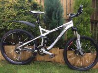 Sad sale of a Specialized FSR Expert 2009 Mountain bike. Mostly XT group set
