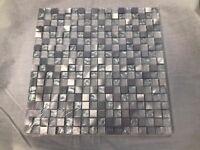 Silver Mosiac Ceramic Tiles