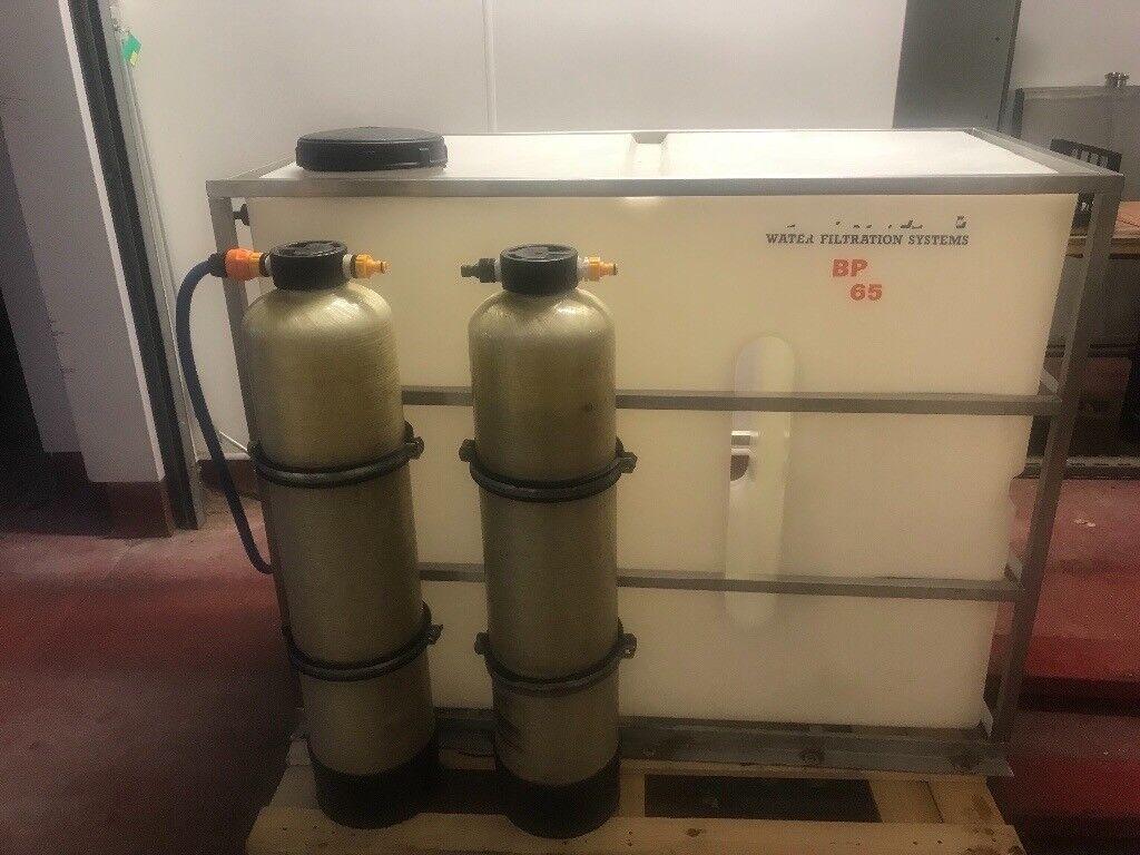 Window cleaning 650l bravo streamline filtration system