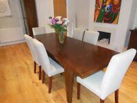 Hemelaer extendable dining table - 'Vintage' range