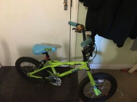 Boys bmx 16inch wheels