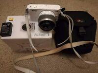 Digital Camera Nikon J1 10.1MP - White