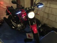 Honley HD1 125cc motorbike 64 plate