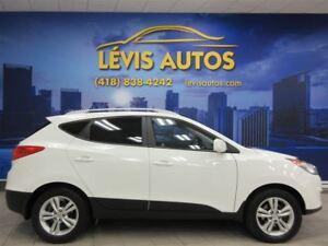 2013 Hyundai Tucson GLS BLANC AUTOMATIQUE FULL ÉQUIPE EXTRA PROP