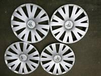 "Citroen 15"" wheel trims"