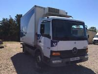 MERCEDES 815 FRIDGERATOR TRUCK2005