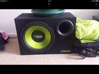 Fusion 600 watts sub woofer