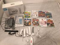 Nintendo Wii, Controllers and 8 games