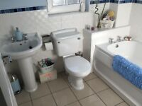Bathroom Suite - white.