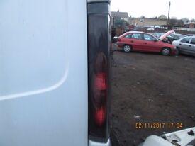 Nissan Primastar/Vivaro Drivers Side Rear Light 2006