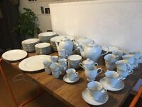 Vintage Complete Dinner, Tea and Coffe set (79 pieces) - Porcelain