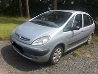 Citroen xsara Picasso for sale MOT till mid September 2018