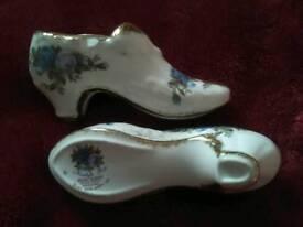 Miniature royal Albert shoes