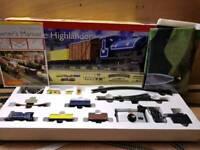 Hornby Blue Highlander train set