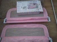 Summer pink dual bedguard