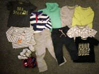 Baby boy bundle 12-18 months