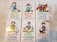 "Set of 6 ""Sophie"" books"